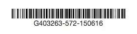 giftcertificate barcode